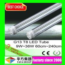 O.E.M. Manufacture Aluminum+PC 1200mm LEDs T8 Light Tubes