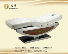 Adjustable and beauty furniture massage facial bed spa facial bed