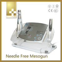 2014 Home Use cryo electroporation machine Needle Free Mesotherapy machine galvanic beauty machine