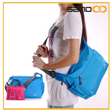 Fashion nylon stylish side bags, cheap folding latest side bags for women