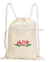 Wholesale drawstring cotton bag/cotton bag/cotton tote bag (YC3333)