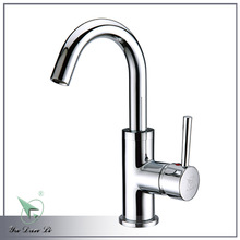 Polished chrome deck mounted hot sale single hanlde basin & kitchen faucet 5310A