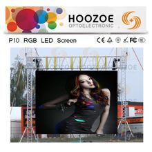 Hoozoe-Simple Cabinet-Canada P10 Full Color DIP LED Screen