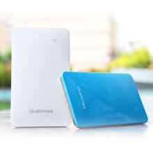 Touch screen,Bluetimes LP-509A 4000mah polymer power bank with 1a output