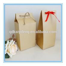 recycled ribbon handle tea paper bag coffee bag