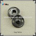 15mm coser en sujetador rápido con cuatro agujeros del botón del vientre anillos