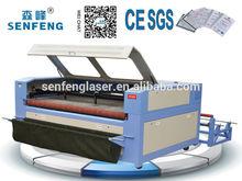 80 watt large size laser cutter for fabric