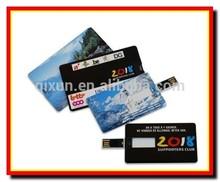 2 sides digital color printing logo funny business card usb flash memory,usb flash drive wholesale