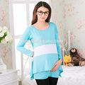 Mais recente 2014 chic junior natural de algodão maternidade roupas online0921#