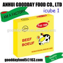 10g*60pcs*24boxes beef flavour cooking cubes