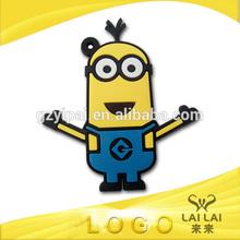 Eco-friendly manufactory China made rubber soft pvc small logo