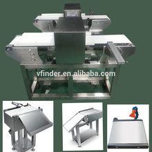 Food metal detector for vegetable sorting equipment