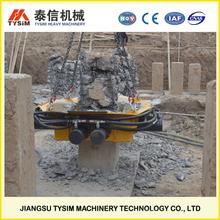 LEADING Rock pile cutting machine, KP500S Square concrete Pile Breaker, Pile cutter