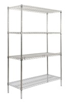 Heavy duty height adjustable stainless steel cold room shelf
