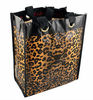 Small Reusable Leopard Waterproof Tote Bag Shopping Beach Storage Bags
