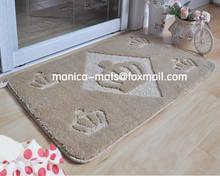 widely used brand logo mat to reland/Microfiber Bath Rug Silk Yarn Mat