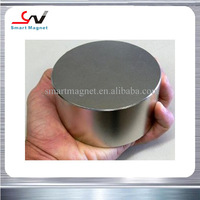 Strong magnetic cheap permanent thick big disc rare earth magnets n42 sh
