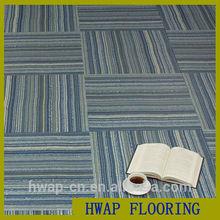 Indoor PVC flooring carpet pattern plastic flooring tile