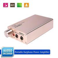 Portable earphone power audio amplifier built-in high performance power process