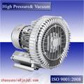 Jqt-3000-c de alta presión de aire del ventilador de aire 3.0kw soplador de canal lateral