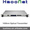 Doble fuente de alimentación 1550 óptica transmisor / modulación directa transmisor óptico