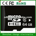 a granel por atacado de venda quente 64gb cartão micro sd classe 10 cartão de memória