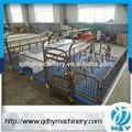galvanización en caliente cajas de parto para los cerdos