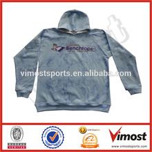 custom wholesale plain fleece /pullover hoodie