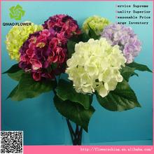 importers artificial flowers fabric hydrangea flower heads