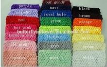 "Wholesale Baby Girls Crochet Tube Top Tutu Top 2.8"" Crochet Elastic Band Fashion Crochet Tutu Tops"