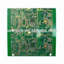 VOP PCB, 8 Layers, ENIG Surface Finish, 0.2mm Minimum Via Diameter