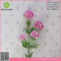 artificial hydrangea flower ball arrangement fabric