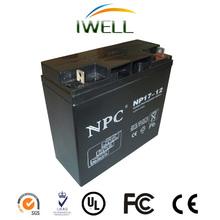 Inverter Battery 12v 17ah Rechargeable Lead Acid Battery