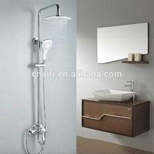 Rain shower set bath shower head faucets wall mounted 1574