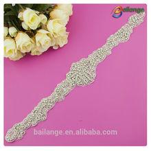 beautiful fashion design high quality hot selling guangzhou wholesale rhinestone clothing accessories