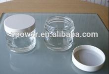 glass jar for cosmetic packaging, glass cream jar, acrylic cream jar