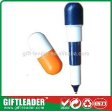 pill shaped plastic ball pen XSGP-2302