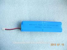 rechargeable LiFePO4 battery 18650 6.4V 2800mAh for solar light