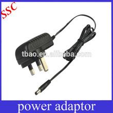 5v-9V 1A/2A/3A power adapter 120v SAA/UK/US AC for LED driver/setopbox
