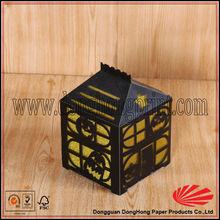 Fancy Holloween gift packaging cardboard box house