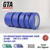 Blue painters tape for outdoor uv resistant waterproof edge tape