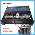 caliente fp10000q 4 canales dj pro amplificador azul fabricante de la placa