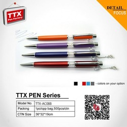 2014 promotional office stationery ball, 2 ink in 1 pen