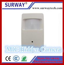 new product smallest covert portable audio video PIR IP wireless hidden mini camera