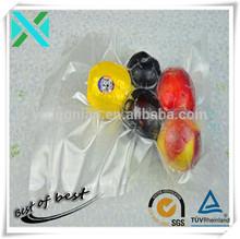 Accept custom heat seal transparent vacuum food packaging bags