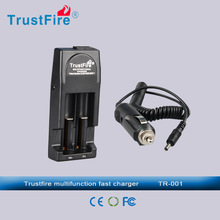 Trustfire TR-001 4.2v double slots battery charger hottest selling good quality charger cell phone accessory(EU Plug)