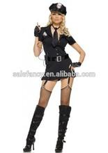 woman sex hot police sex dress sexy cop costume Adult Fancy Dress Costume QAWC-2310