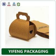 2014 kraft paper cupcake boxes/cupcake packaging/paper cupcake packing boxes