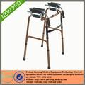 calidad superior de adelante hacia atrás oxidado de bronce de aluminio de la pierna ortopédica ortopedia andador walker para el paciente o la gente endeble rehab