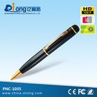 Cheapest Video recording with audio, Audio recording , Photo taking 720p HD camerorder mini pen camera(PNC-1035)